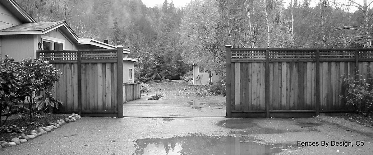 how to build a sliding gates for driveways